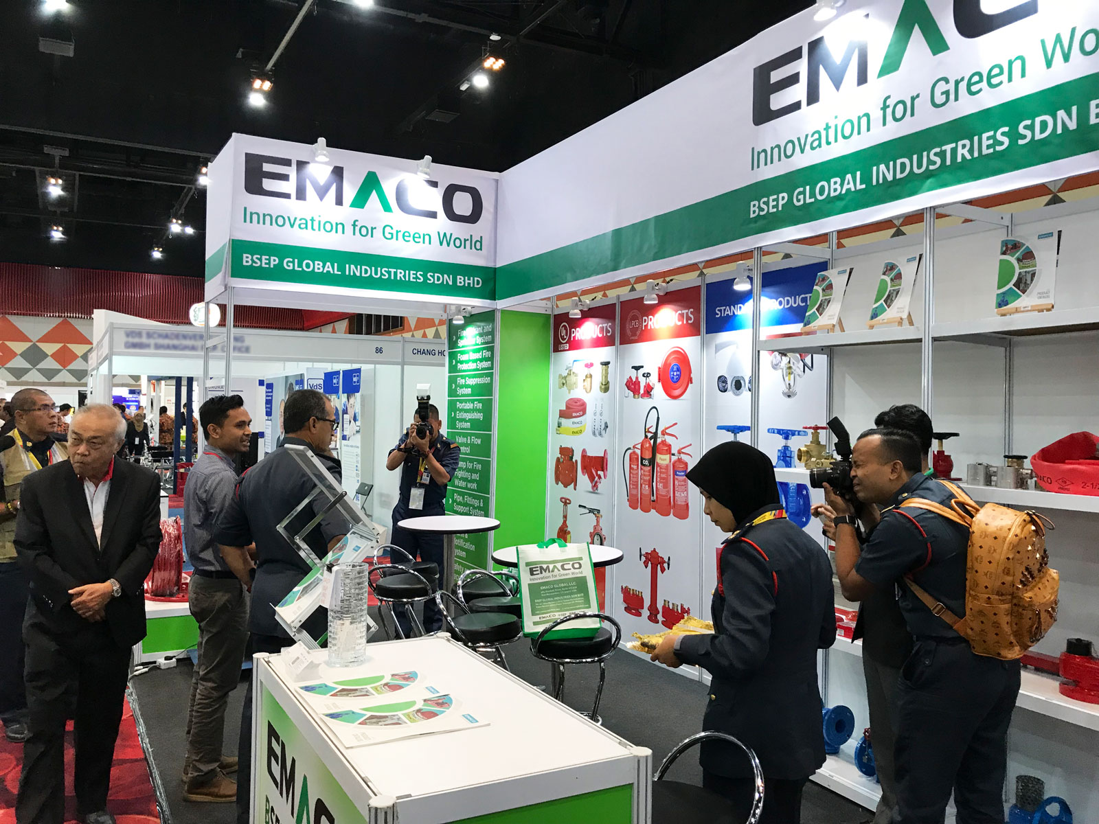 EMACO Global Exhibited at IFCEM 2018